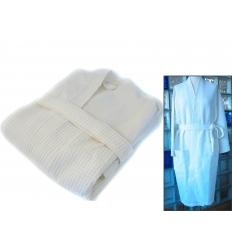 Bamboo fiber bathrobe - waffle