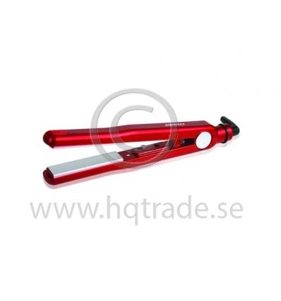 Röd elektrisk hårtång