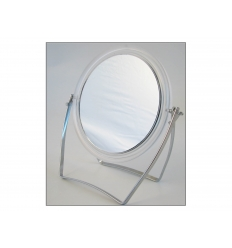 Standing make up mirror