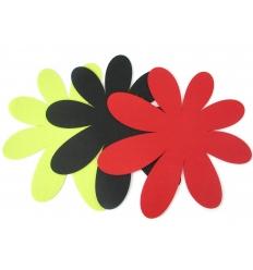 Pot mat in felt - flower