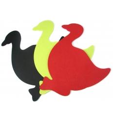 Pot mat in felt - duck