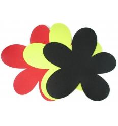 Grytunderlägg av filt - blomma