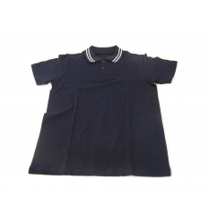 Polo shirt in bamboo and organic cotton material