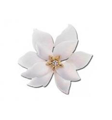 Brosch - blomma