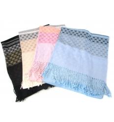 Miljövänlig sjal av bambu