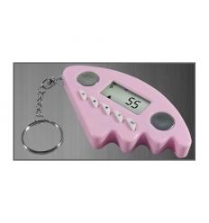 Body fat analyzer with keychain