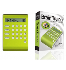 Brain trainer with calculator