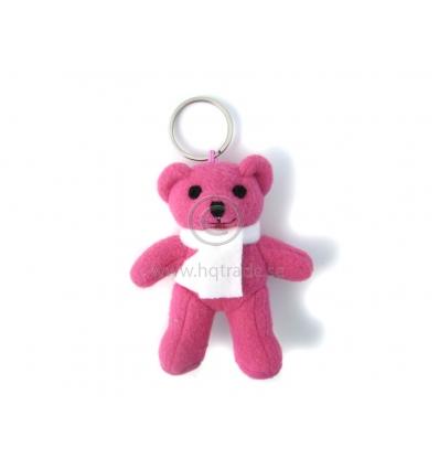 Rosa björn i nyckering - Import   tillverkning för promotion e2a9abea32674
