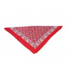 Röd och vit bandana