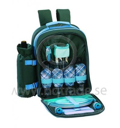 Picknickryggsäck för 4 personer