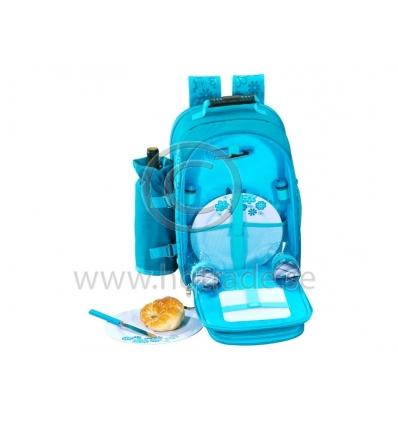Picknickryggsäck för 2 personer med radio