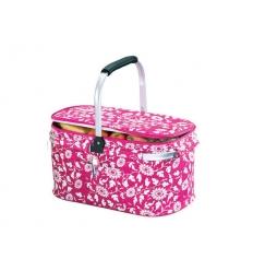 Basket cooler bag