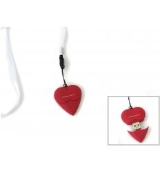 USB flash drive - silicon heart