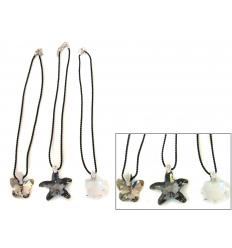 Halsband med kristall