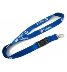 Eco-friendly lanyard - recyled PET bottles