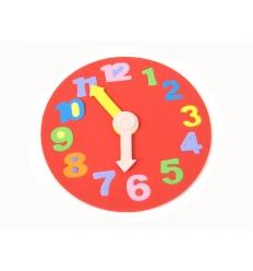 Soft puzzle clock