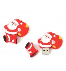 USB-minne - Tomtefar med julklappar