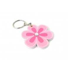 Keychain with notepad