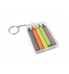 Crayons in keychain