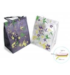 Cooler bag - shopping bag style