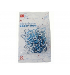 Paper clips - airplane