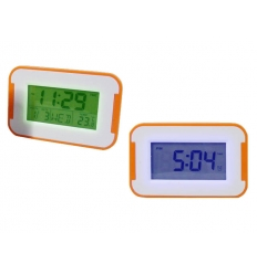 LCD clock - colour changing LED