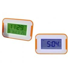 LCD klocka - färgskiftande LED
