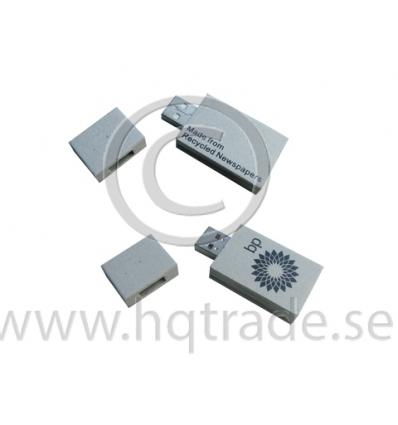 USB-minne - återvunnet papper
