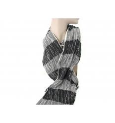 Grå scarf