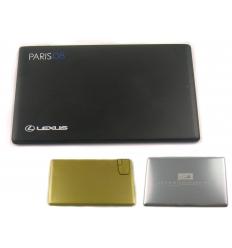 USB flash drive - brushed aluminium card