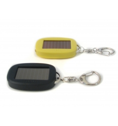 Solar torch keychain - oval