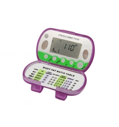 Pedometer with Body Fat Analyzer