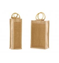 Jute wine bag