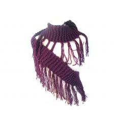 Stickad halsduk