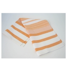 Striped kitchen towel
