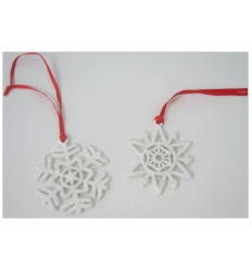 Snowflakes - hanging decorations