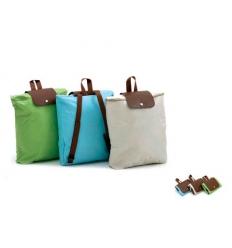 Ihopfällbar shoppingväska / ryggsäck