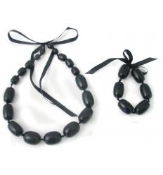 Halsband och armband - set