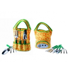Garden tools with radio