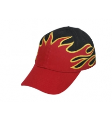 Baseball cap - flames