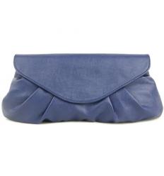 Blå kuvertväska