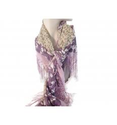 Lila scarf