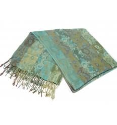 Grön scarf