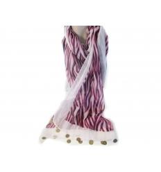 Metal plate scarf