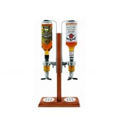 Liquor dispenser - 2 bottles