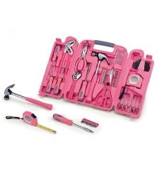 Stor verktygslåda - rosa