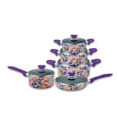 Cookware set - flowers