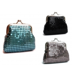 Metallic purse