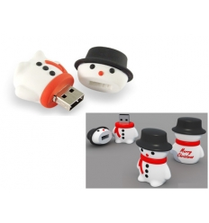 USB flash drive - Snow man