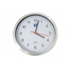 Wall clock with imprint